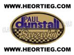 Paul Dunstall Suzuki Tank and Fairing Transfer Decal DDUN6-6